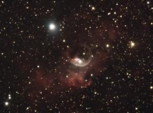 Bubble Nebula Closeup
